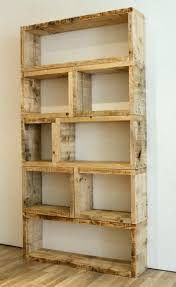 Wood Bookcase Plans Reclaimed Wood Bookcase Diy Home Design Ideas