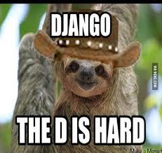 Make A Sloth Meme - rape sloth on django unchained 9gag
