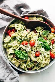 pasta salad pesto 15 minute spinach pesto tortellini salad recipe little spice jar