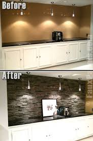 kitchen paneling backsplash faux panels easy to install gives the look of for