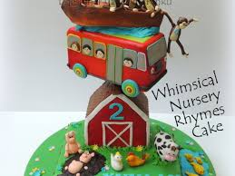 Nursery Rhymes Decorations by Whimsical Nursery Rhymes Cake Cakecentral Com