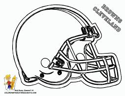 nfl football helmets coloring pages getcoloringpages com