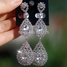 rhinestone chandelier earrings cheap rhinestone chandelier earrings find rhinestone
