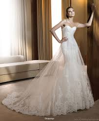 mermaid wedding dresses 2011 pronovias 2011 wedding dress collection beautiful bridal gowns