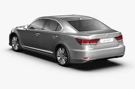 lexus sedan ls 2013 2013 lexus ls460 3d cgtrader