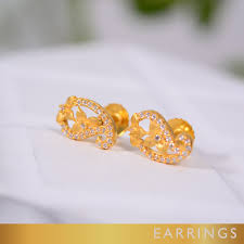gold earrings price in sri lanka ravi jewellers ultimate gold jewellery collection