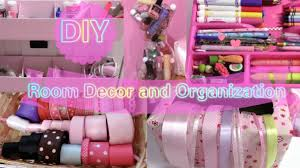 Diy Bedroom Organization by Diy Room Decor And Organization Easy Cute Youtube
