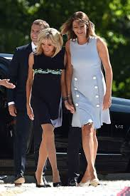 brigitte trogneux french first lady style british vogue
