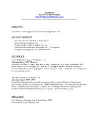 retail buyer resume objective exles buyer job description resume best of resume exle retail buyer