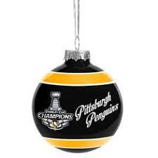nhl pittsburgh penguins sidney crosby ornament let s go pens