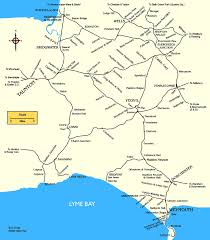 Exeter England Map by Historical Maps South West England
