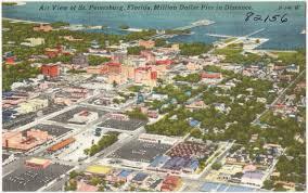 Map St Petersburg Florida by Air View Of St Petersburg Florida Million Dollar Pier In