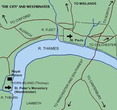 thames river map europe history of world cities medieval london