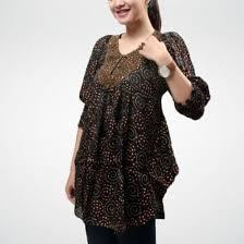 gambar model baju batik modern model baju batik modern kantoran info fashion terbaru 2018