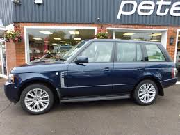 used range rover for sale used 2012 12 land rover range rover tdv8 4 4 westminster 313bhp