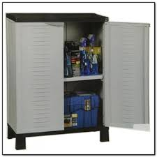 Storage Cabinets Outdoor Plastic Storage Cabinets With Doors Best Home Furniture