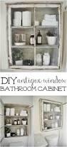 Antique Bathroom Decor Diy Bathroom Cabinet Sees Cabinets And Window