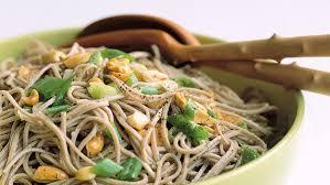 ginger peanut somen noodles