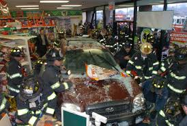 suv crashes into dollar tree store shopper pinned silive