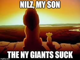 Ny Giants Suck Memes - lion king meme imgflip