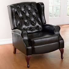Wingback Recliners Chairs Living Room Furniture Minimalist Furniture For Living Room With Wingback Leather