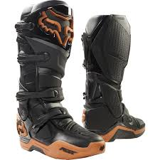 Fox 2017 Le Instinct Black Copper Boots Mxstore Picks