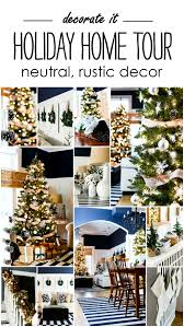 Home Holiday Decor by Holiday Home Tour With Neutral Christmas Decor It All Started