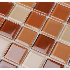 tile sheets for kitchen backsplash wholesale glass mosaic for swimming pool tile sheet brown