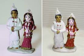 indian wedding cake toppers indian wedding cake topper maharani weddings