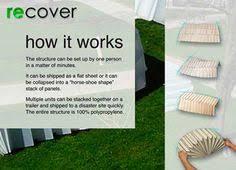 The Origami Inspired Folding Bamboo House Inhabitat Sustainable Design Innovation Eco - marg lau margueritelau on pinterest