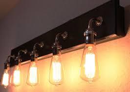 Bathroom Vanity Light Bulbs 5 Bulb Bathroom Vanity L Bathroom Fixture Bathroom Lighting