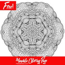 free printable mandala coloring page 2 make breaks