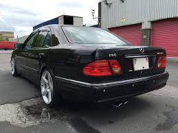 mercedes w210 1997 mercedes w210 e60 amg being auctioned at barons auctions