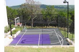 Backyard Sports Court by Basketball Courts Gallery U2013 Sport Court Of Austin