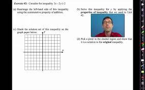 common core algebra i unit 4 lesson 11 graphs of linear