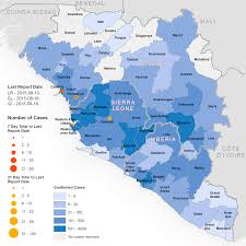 Foot Pain Map Who Ebola Maps 2015