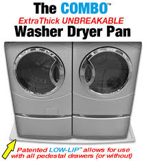 Pedestal Washing Machine Driptite Unbreakable Washer Pan Water Heater Pan Washing