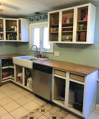 how to paint oak kitchen cabinets u2014 weekend craft