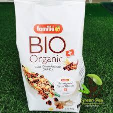 cuisine bio กราโนล า ออร แกน ค bio familia muesli made in swiss กราโนล าorganic