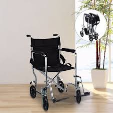 Airgo Comfort Plus Transport Chair Lightweight Transport Wheelchair Local Health U0026 Special Needs