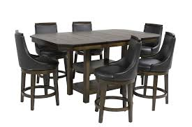 new haven counter height dining room mor furniture for less