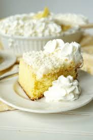 white chocolate poke cake the baking fairy