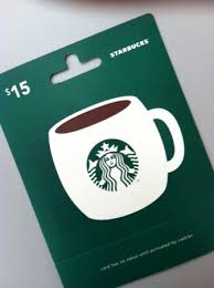 15 gift cards hot 15 starbucks gift card for 9 hurry not raise