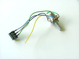 fraser foldaway potentiometer switch including wiring