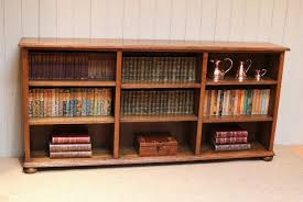 Long And Low Bookcase Bookcase Astounding Long Horizontal Bookcase Cheap Horizontal