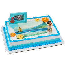 officially licensed moana edible image cake u0026 cupcake toppers