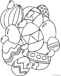 printable easter egg coloring pages for adultsfree printable