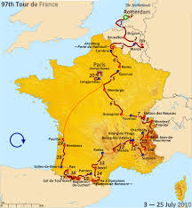 Road Map Of France by 2010 Tour De France Wikipedia