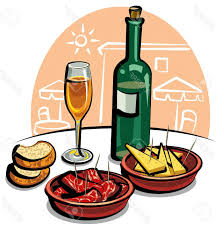 Best Free Appetizers And Cocktails Clip Art Vector Image Free
