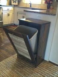 kitchen trash can ideas hide kitchen trash can and best kitchen trash cans ideas on